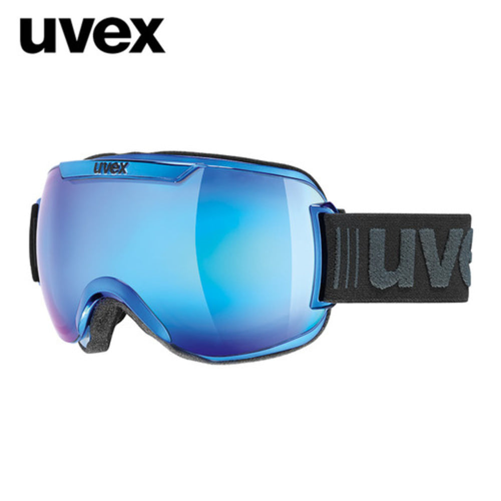 [UVEX] 17/18 uvex downhill2000 FM chrome blue 우벡스 스키 크롬 고글