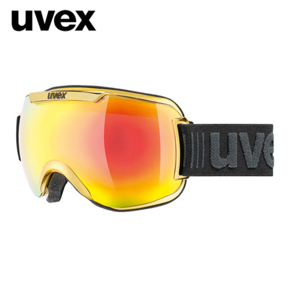 [UVEX] 17/18 uvex downhill2000 FM chrome yellow 우벡스 스키 크롬 고글
