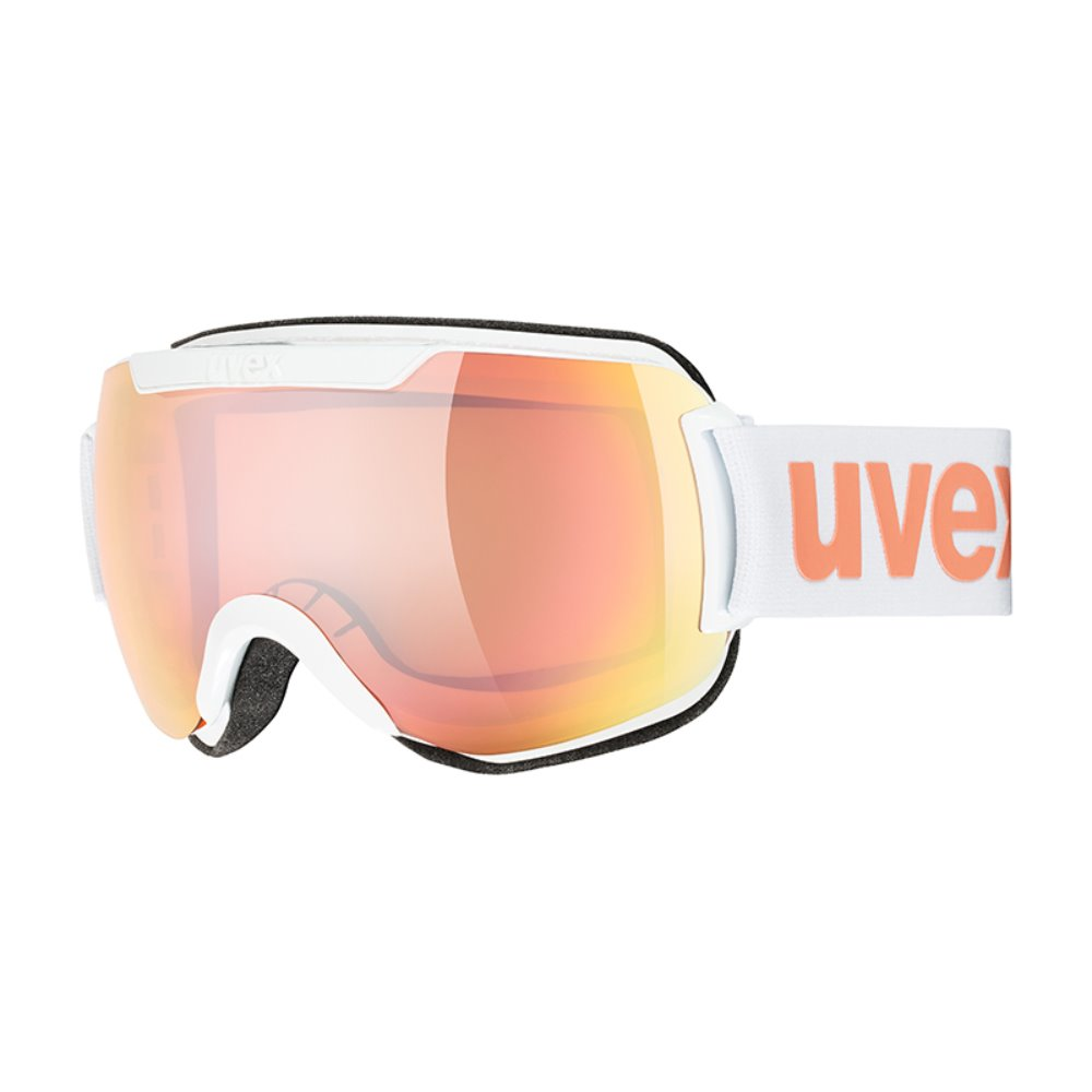 [UVEX] 19/20 downhill 2000 CV white SL/ro-orange 우벡스 스키 고글