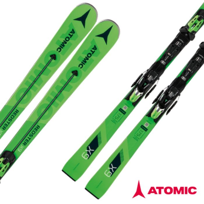 [ATOMIC] 18/19 REDSTER X9  Servotec + X 14 TL RS OME Black/Green 아토믹 대회전 스키