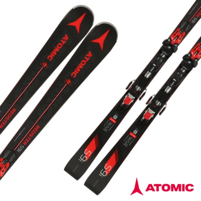 [ATOMIC] 18/19 REDSTER S9i Servotec + X 14 TL RS OME Red 아토믹 회전 스키