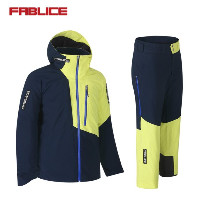 [FABLICE] 18/19 파블리스 Demo Jacket + Demo Pants Navy Green