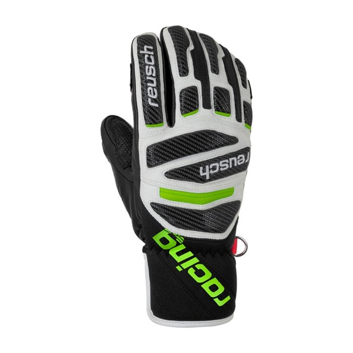 [REUSCH] 19/20 race tec 18 pro lobster black/white/neongreen 로이쉬 스키 장갑