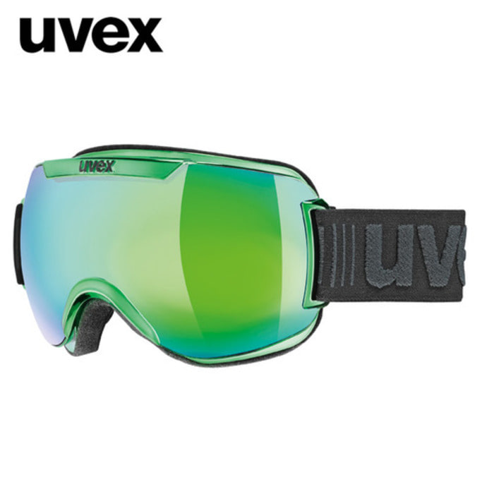 [UVEX] 17/18 uvex downhill2000 FM chrome green  우벡스 스키 크롬 고글