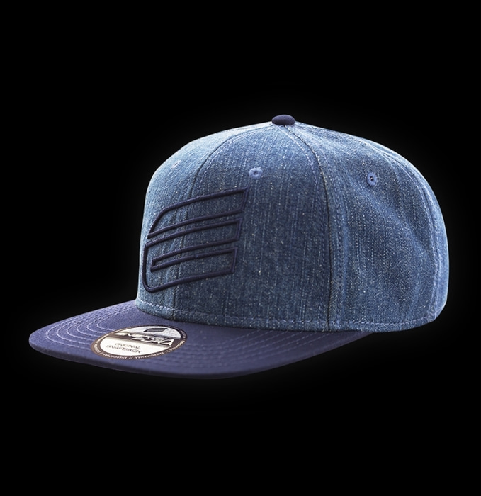 [ENERGIAFURA] SNAP BACK  jeans blue 에너지아푸라 스냅백