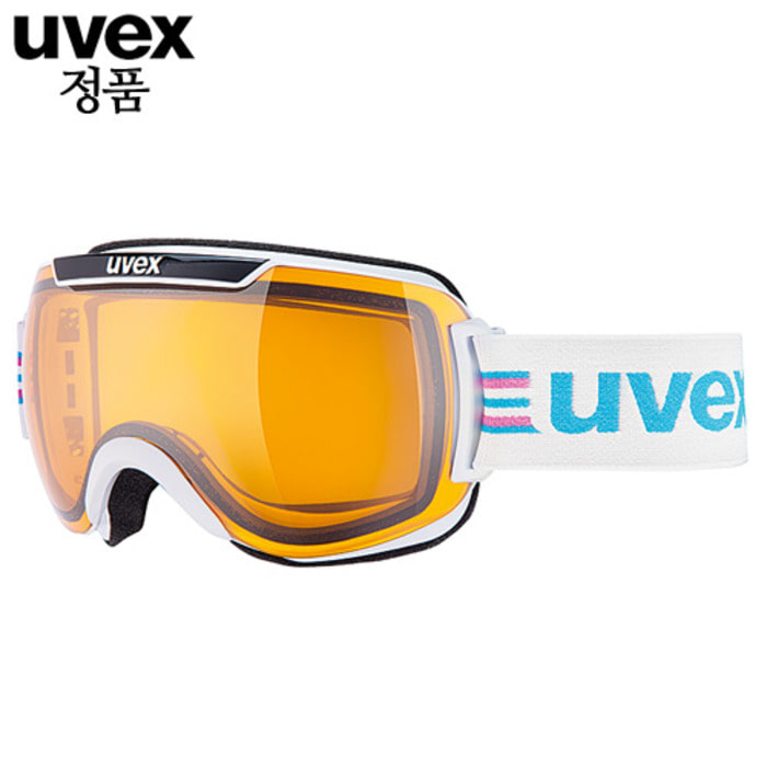 [UVEX] 16/17 uvex downhill2000 race white-black 우벡스 스키 고글