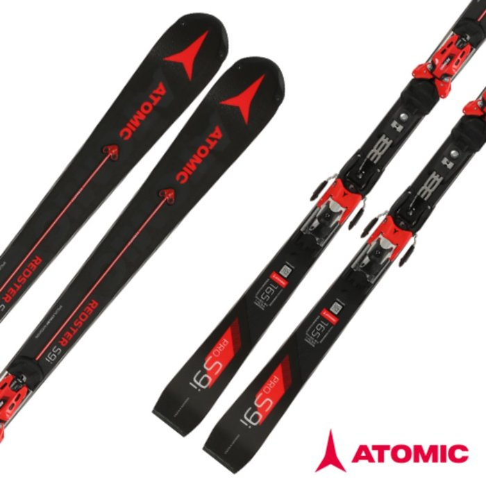 [ATOMIC] 18/19 REDSTER S9i PRO Servotec + X 16 VAR Red/Black 아토믹 회전 스키