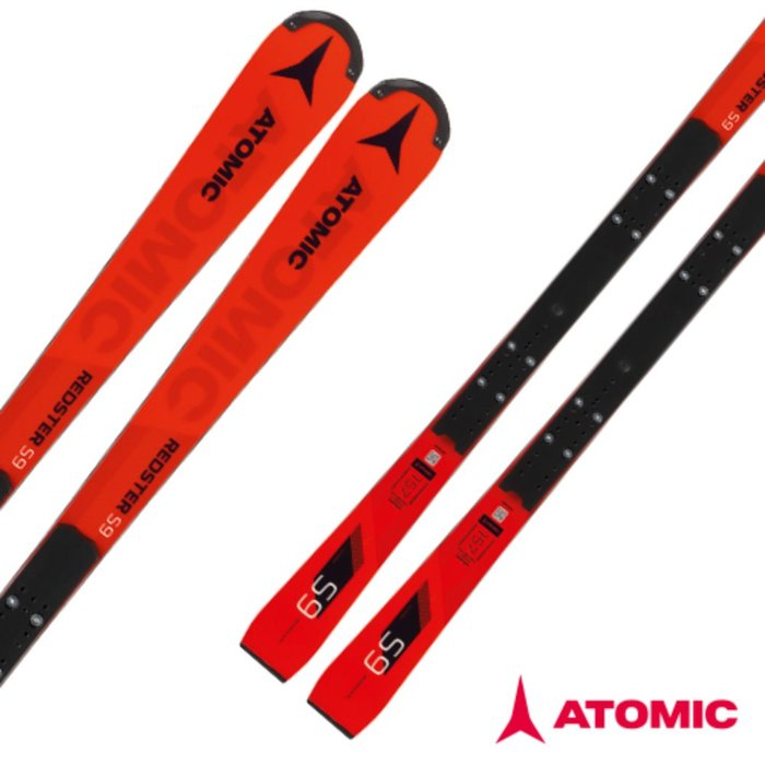 [ATOMIC] 18/19 REDSTER S9 FIS + X 16 VAR Red/Black 아토믹 회전 스키