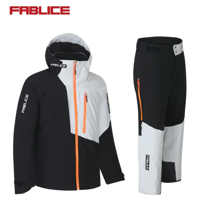 [FABLICE] 18/19 파블리스 Demo Jacket + Demo Pants Black Grey