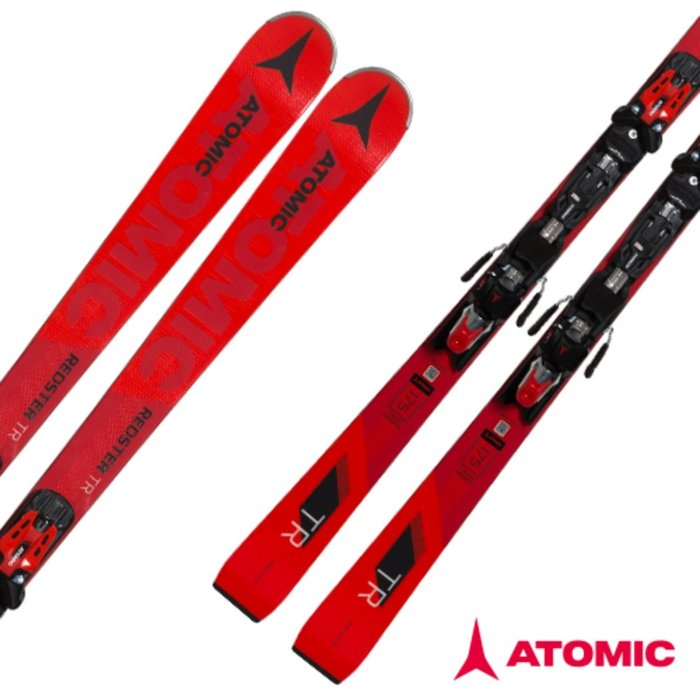 [ATOMIC] 18/19 REDSTER TR + X 12 TL R OME Black/Red 아토믹 회전 스키