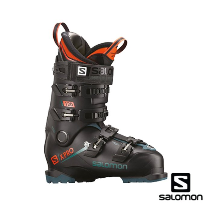 [SALOMON] 18/19 X PRO 120 Bk/Blue/Orange 살로몬 스키 부츠