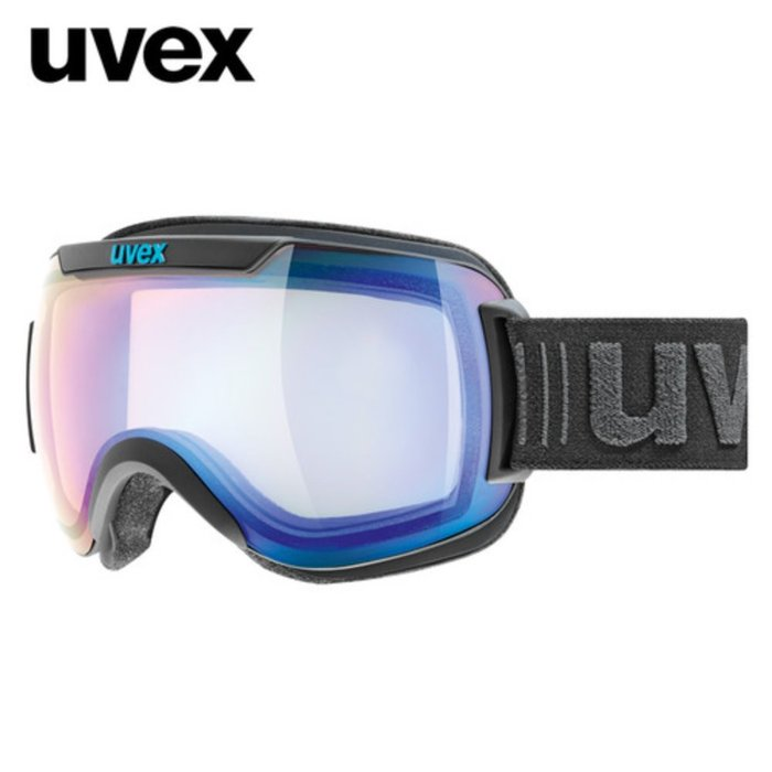 [UVEX] 18/19 uvex downhill 2000 VFM - ASIAN FIT black mat 우벡스 스키 고글
