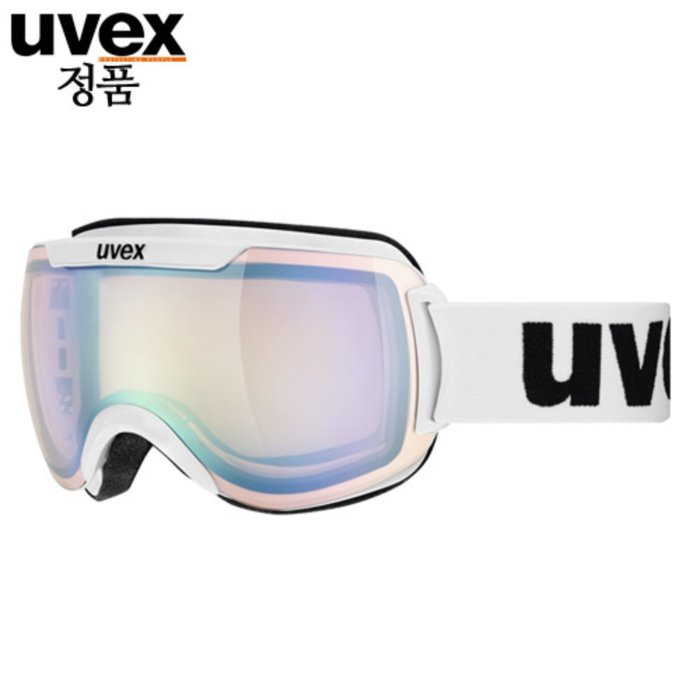 [UVEX] 18/19 uvex downhill 2000 VLM - ASIAN FIT white 우벡스 스키 고글