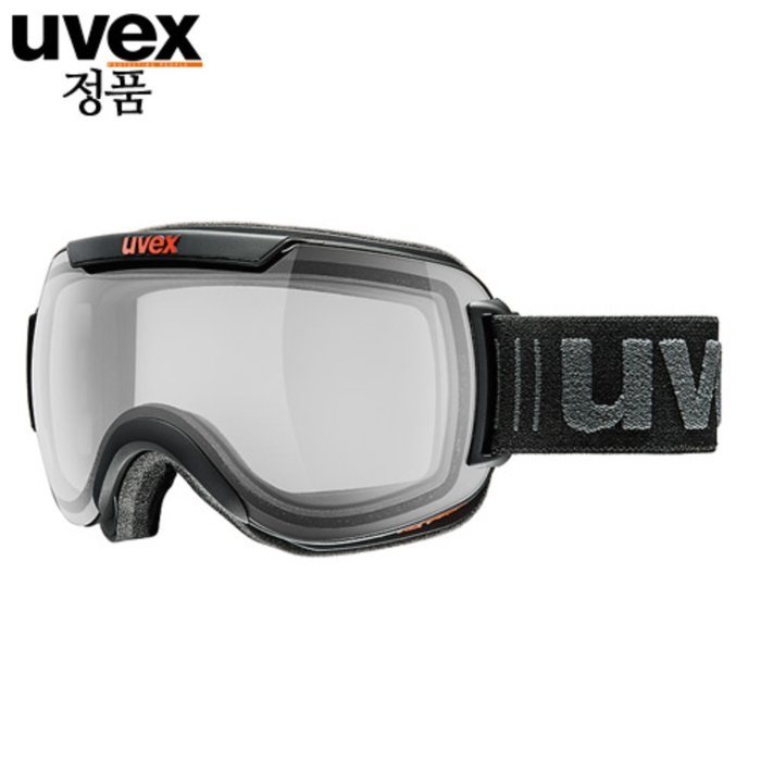 [UVEX] 18/19 uvex downhill 2000 VP X - ASIAN FIT black mat 우벡스 스키 고글
