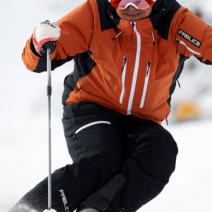 [FABLICE] 19/20 파블리스 Freeride Jacket + Freeride Pants orange/black