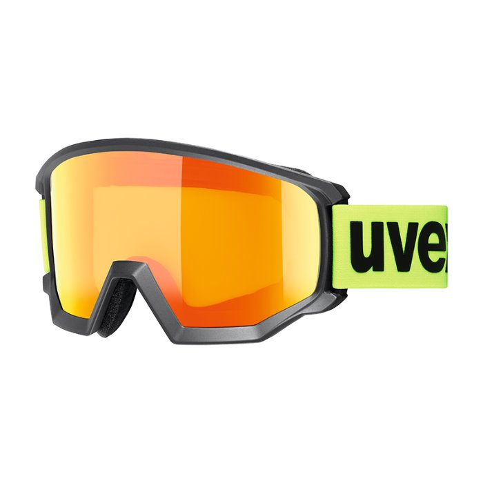 [UVEX] 19/20 athletic CV black msl/orange-yellow 우벡스 스키 고글