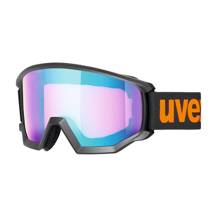 [UVEX] 19/20 athletic CV black msl/blue-orange 우벡스 스키 고글