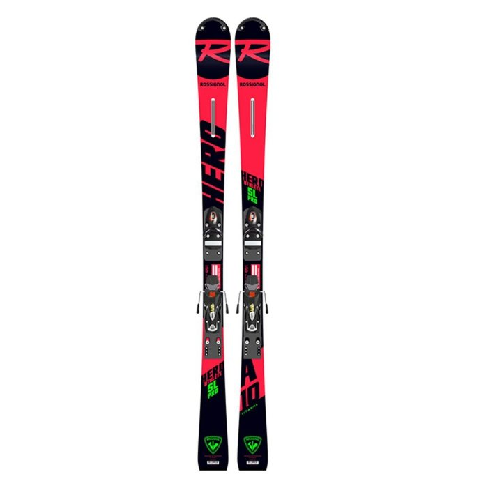 [ROSSIGNOL] 19/20 HERO ATHLETE SL PRO (R20 PRO) + SPX 10 B73 (BLACK/ICON) 로시뇰 주니어 레이싱 회전 스키