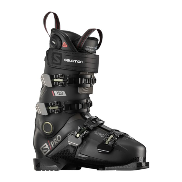 [SALOMON] 19/20 S/PRO 120 CHC Black/Belluga/Red 살로몬 스키 부츠