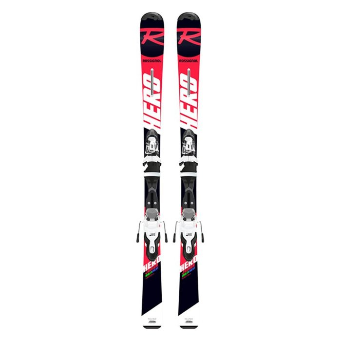 [ROSSIGNOL] 19/20 HERO JR (KID-X) + KID-X 4 B76 (BLACK/WHITE)  로시뇰 주니어 어린이 스키